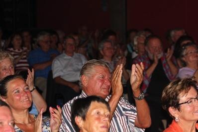 Das Hennersdorfer Publikum restlos begeistert
